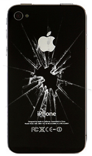 iPhone broken back glass, repair, replace, fix - NYC